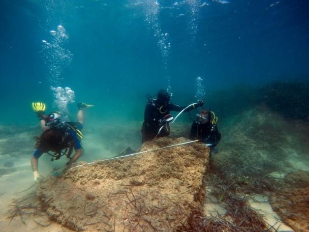 突尼西亚附近海底发现 古罗马废墟
