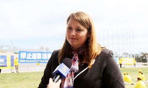 澳洲联邦议员主持揭露活摘罪行研讨会