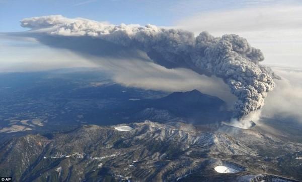 岩浆蓄集中?日本学者:九州火山恐大规模喷发
