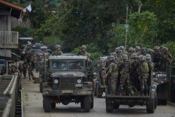 菲军方称马拉韦战事即将结束 逾千人死