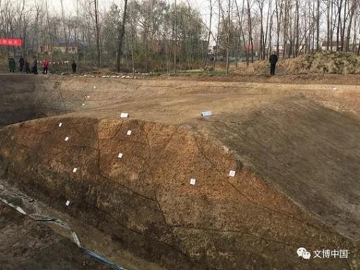 吕布葬身之地 中国考古学家挖出下邳古城