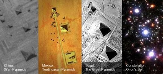 历史考古学家质疑金字塔并非古埃及人所建