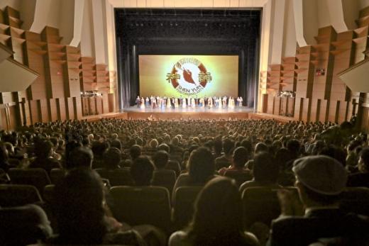 神韵东京首场爆满 观众惊叹:展现神的世界
