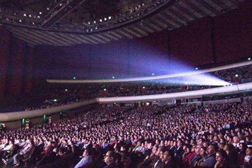 五千人共赏神韵 墨西哥首都再现壮观景象