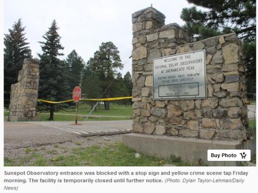 美FBI紧急封锁天文台 网友:发现外星人了?