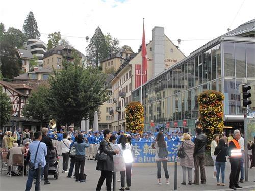 瑞士卢塞恩景点的故事